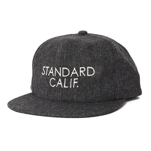 STANDARD CALIFORNIA #SD Logo Wool Cap Charcoal