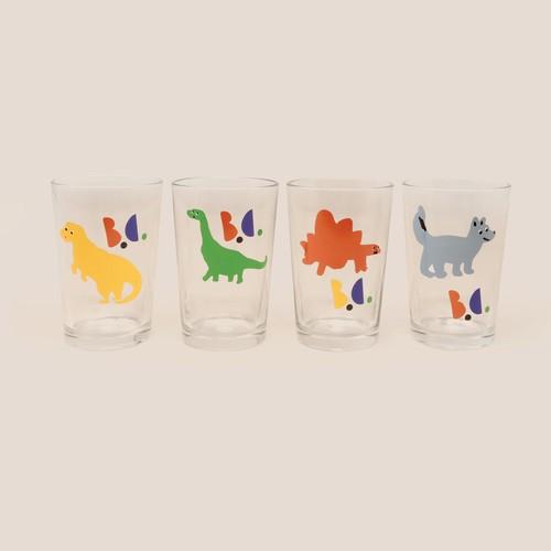 《BOBO CHOSES 2020AW》Dino Glass Pack