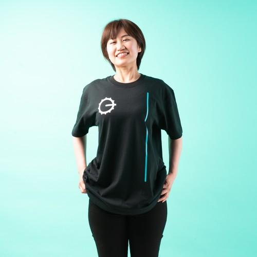 Off1.jp×TTPL Tシャツ BIG-O/ブラック