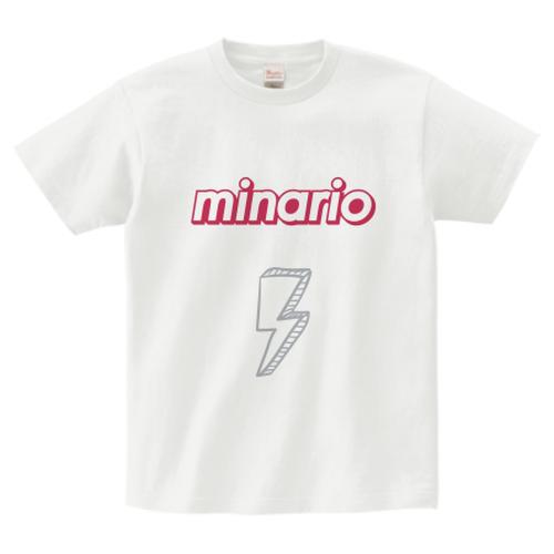 minario / SUMMER SEASON LOGO T-SHIRT WHITE