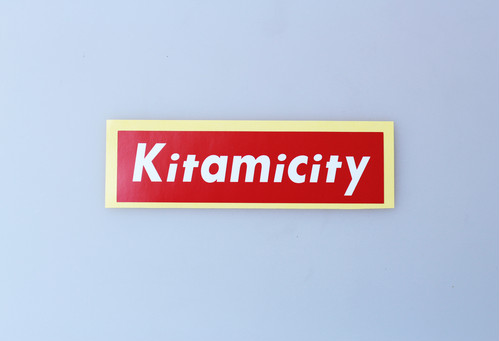 【NEW】KITAMICITY STICKER RED