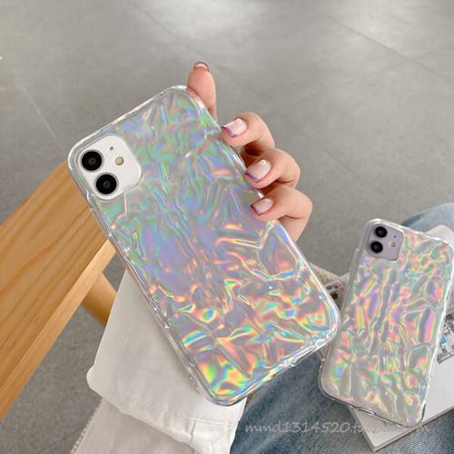 オーロラ シリコン iPhoneケース i9042