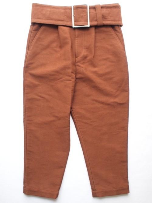 MaisonMIHARAYASUHIRO WAIST BELT TAPERD PANTS / 91032137