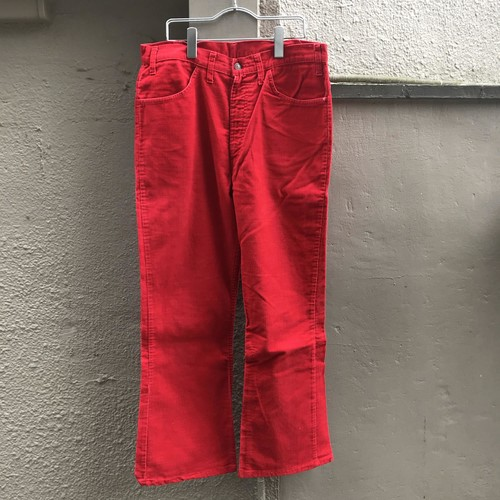 Levis 646 CORD RED UB-753