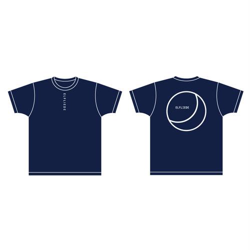 MOON Tシャツ(navy)