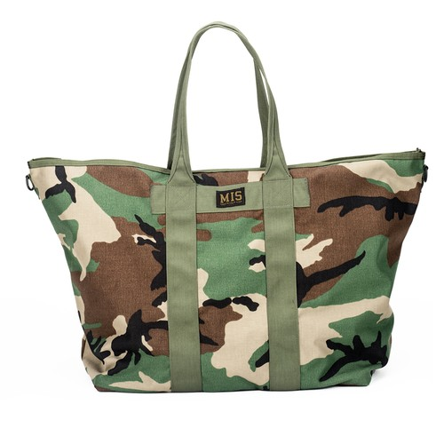 SUPER TOTE BAG - WOODLAND CAMO
