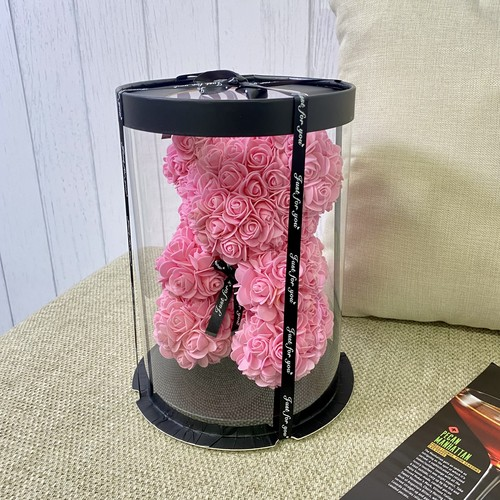 ローズベア ミニ ライトピンク お祝い 誕生日 周年