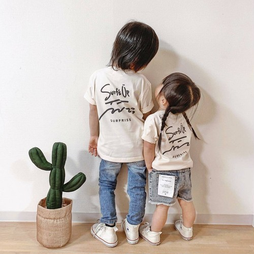 ★Kids★ Surf's Up Tee - Natural