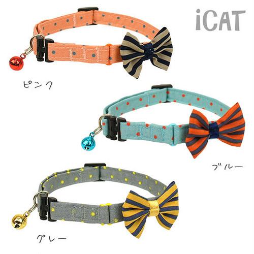 猫首輪(成猫ピンドットボーダータイ)全3種類