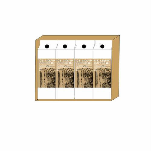 【GIFT】箱4本入アイスリキッドコーヒー