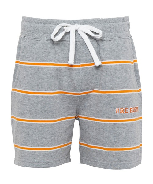 BORDER SWEAT SHORTS[REP097]