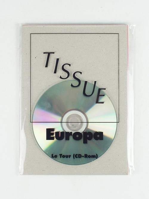 "Europa — ""Le Tour"" (CD-Rom+zine&poster)"