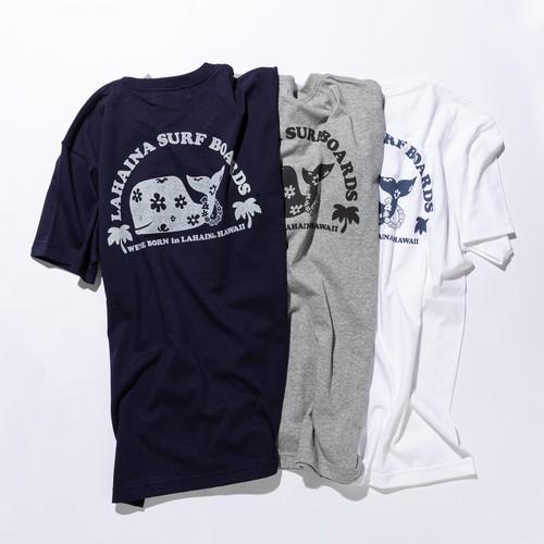 ラハイナ 半円花クジラ Tシャツ【LAHAINA】送料無料 LH1922
