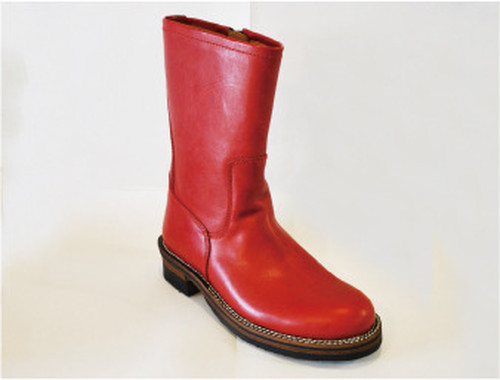 【High Line】ZIP ENGINEER BOOTS TENPESTI RED GR-KE318
