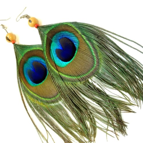 【SALE】Peacocks Earring