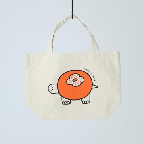 カキカメトートバッグ(ナチュラル・size S)