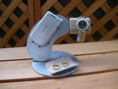可愛いビーンズ腕時計&携帯電話スタンド IMG99