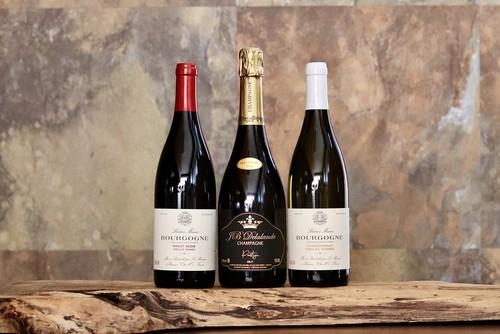 【セット割引】お得な、お家飲み3本セット(計3本)マノワオリジナルの2016年ヴィンテージシャンパーニュ、シャルドネ、ピノ・ノワール