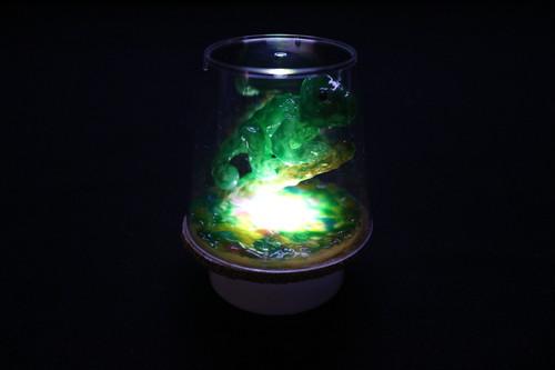 Healing lamp カメレオン