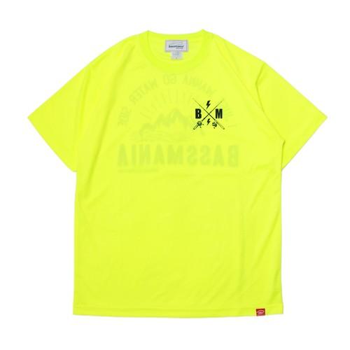 マウンテンプリントUV DRY Tシャツ  [N.YEL]