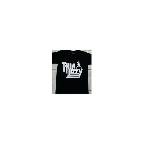 Thin Lizzy シン・リジィ Band Logo/バンド・ロゴ プリントTシャツ
