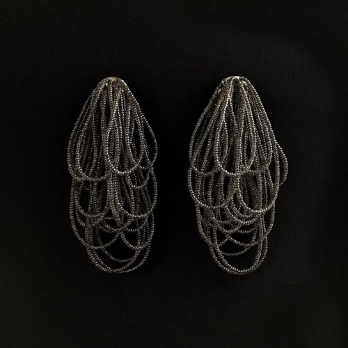 E-27 pierce/earring(black)