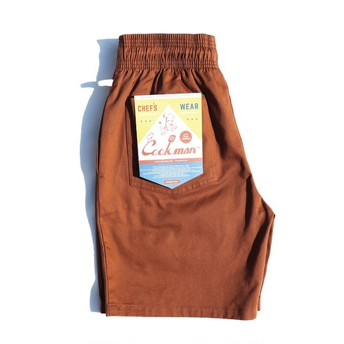COOKMAN CHEF SHORT PANTS「CHOCOLATE」/ BROWN