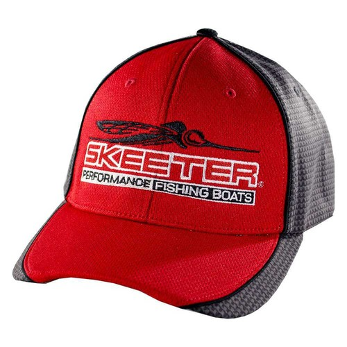 SKEETER RICHARDSON RED MICRO MESH HAT