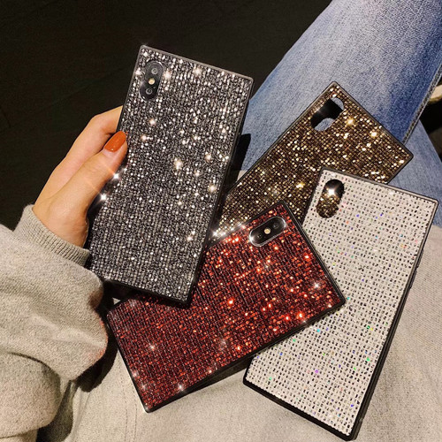 【お取り寄せ商品、送料無料】4カラー きらきら ラインストーン iPhoneケース iPhone11