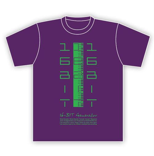 """16-BIT Generator Tシャツ """"05KENVAN-PG"""""""