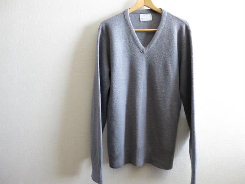 Christian Dior Vネックセーター Gray