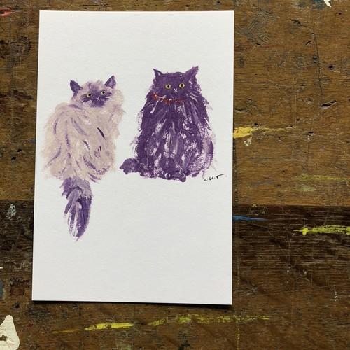 【03.purples】ポストカード
