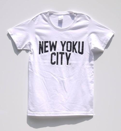 NEW YOKU CITY Tシャツ(WHT×BLK)