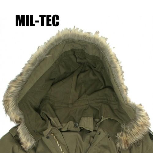 MIL-TEC M-51 フィールドパーカ ファーフード 〈Olive Drab〉