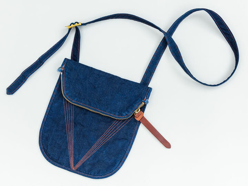 CROSS-BODY BAG (INDIGO) / GERUGA