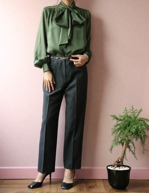 70's CELINE wool pants