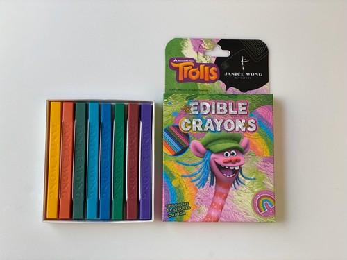 トロールズエディブルクレヨン:クーパー Trolls Edible Crayon: Cooper