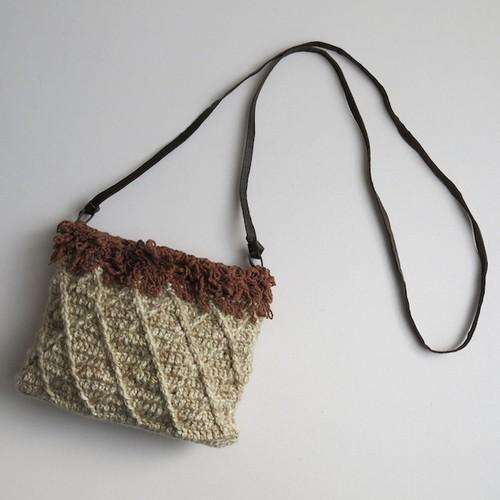 リング編みポシェット