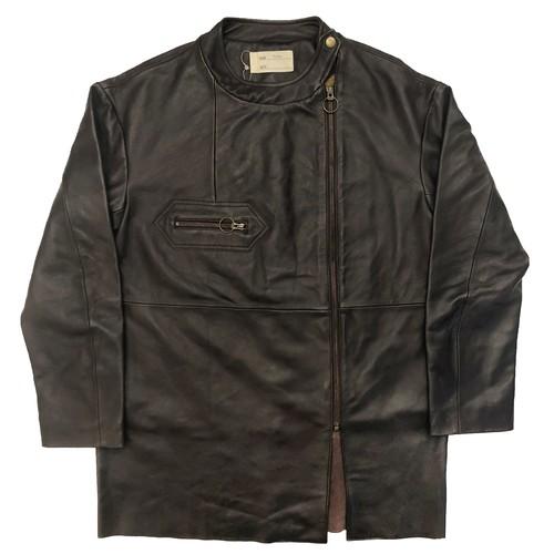 【SALE】circa make euro style rider's jacket / dark brown