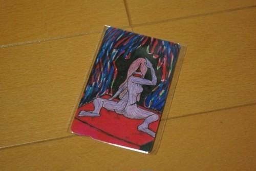 ICカードステッカー「裸婦」