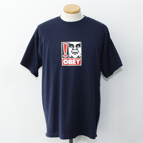 OBEY EXCLAMATION POINT (NAVY)