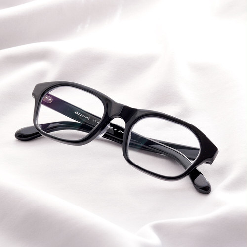 YY - 4 19 / rectangle glasses (clear lens)