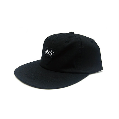 scar /////// BLOOD 6PANEL CAP (Black)
