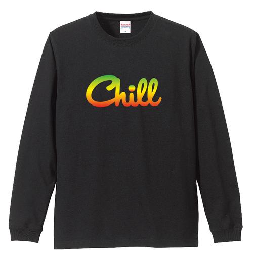 Chill Long Sleeve T-Shirts / 別注UNITE9 RASTA COLOR
