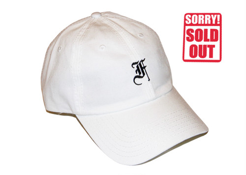 F.F.F. -old english- Low Cap[WHITE]