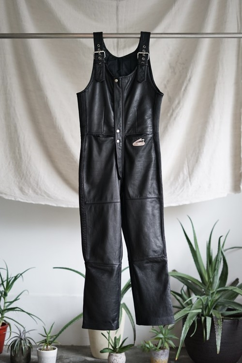 Hein Gericke - Motorcycle Leather Overalls 1980's