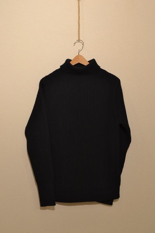 ANDERSEN-ANDERSEN - THE NAVY Turtle Neck Sweater