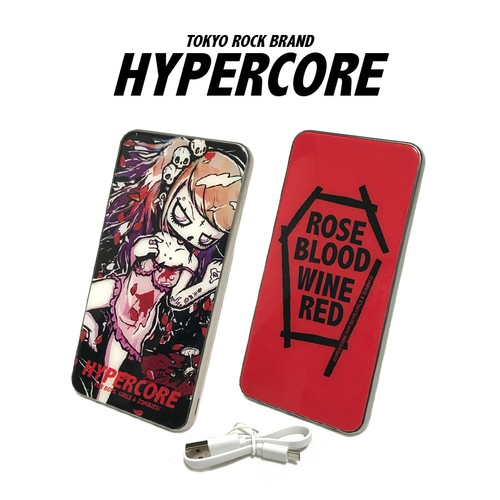 A-392D ROSE BLOOD WINE REDモバイルバッテリー