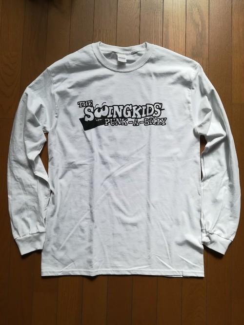 """""""90s RESPECT"""" L/S T-Shirts WHITE"""