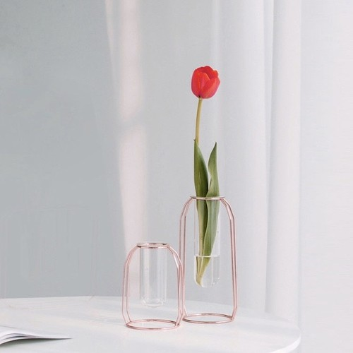 gold wire vase 2size 2colors / ゴールド ワイヤー 花瓶 ベース 韓国 北欧 雑貨